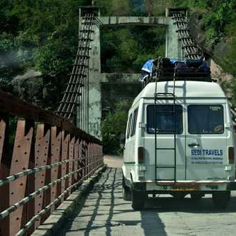 Somewhere between Pragpur and Dharamsala