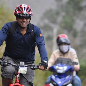 Baz and bike