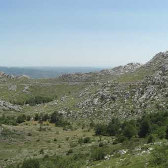Descent through valley