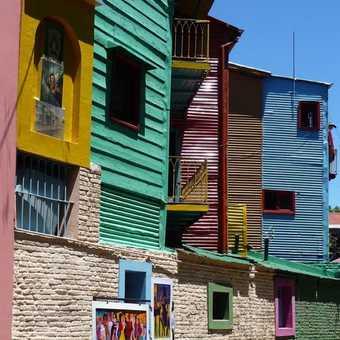 Caminito Street buildings