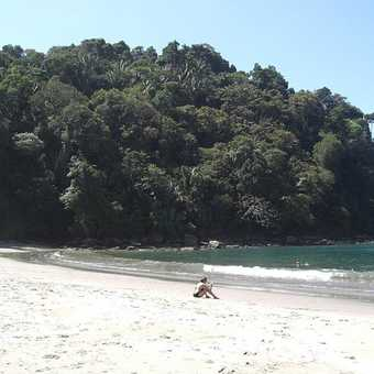 One of the fabulous beaches at Manuel Antonio Park