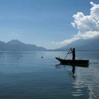The old and the new on Lake Atitlan
