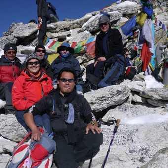 On top of Kalla Patar