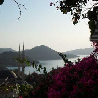 our first hotel in kas