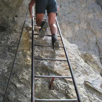 Come on up! The Western Dolomites is the very best for walkers wanting to glow with real achievement