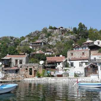 One of the villages you stop at when kayaking