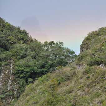 rainbow over the sungate
