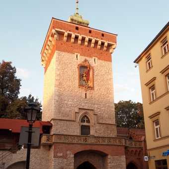 Krakow city wall