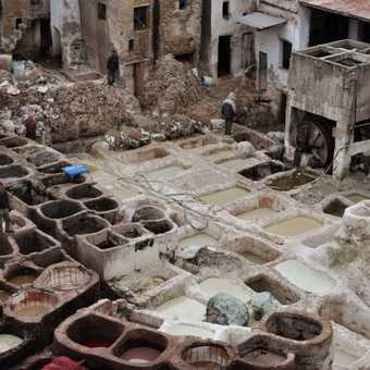 Tanneries at Fes