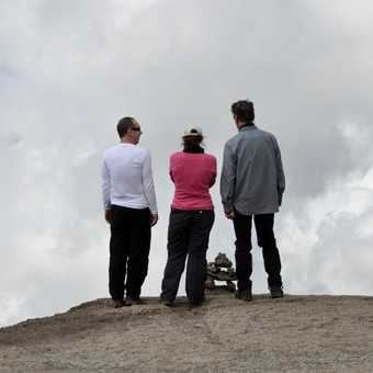 Looking out over the clouds at the top of Barranco