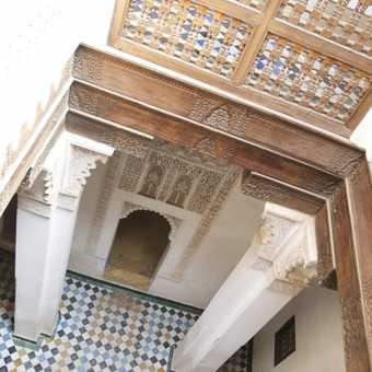 Resting place (dormitary), Medersa Ben Youseff
