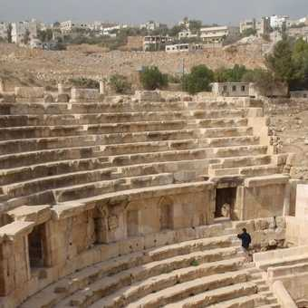 Roman theater, Jerash