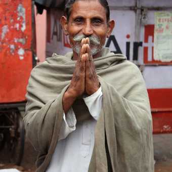 A man we met at a roadside market outside of Jaipur