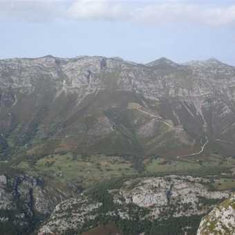 Llanes is just over that ridge!