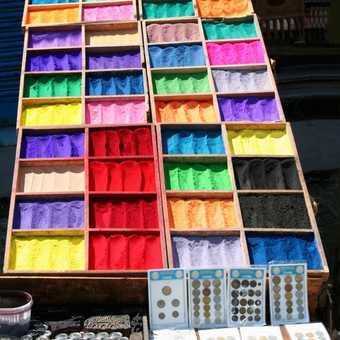 Powders for sale near the Barkhor