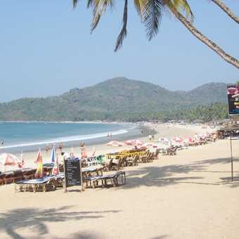 Thai Restaraunt at the Hotel Mira, Calangute