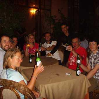 Celebrating in Marrakech