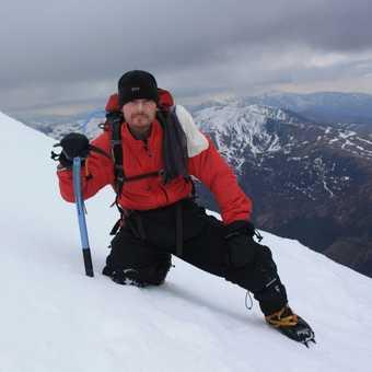 me on the way up ben nevis