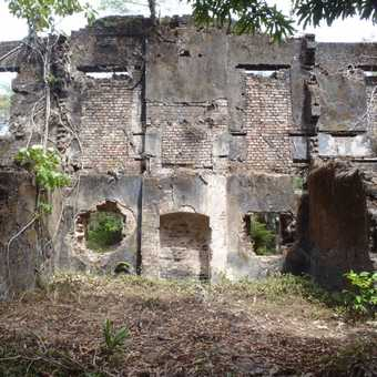Slave fort on Bunce Island
