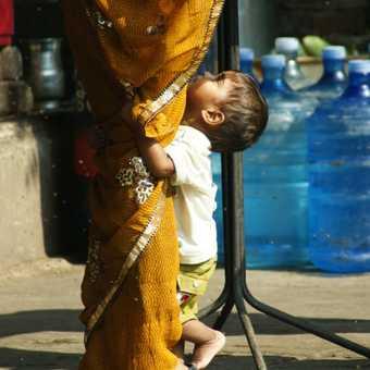 Child & Sari