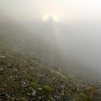 Brocken Spectre from Mt Yarigatake