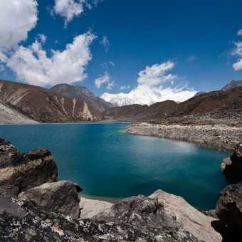 Arrival at the spectacular Gokyo Lakes