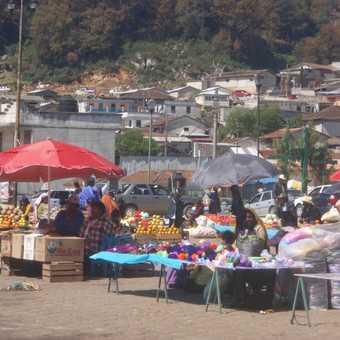 Local market San Cristobal