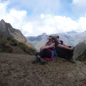 Dead Woman's Pass @ 13779ft/4200 metres ...only another 5562 feet or 1695 metres higher to go to rea
