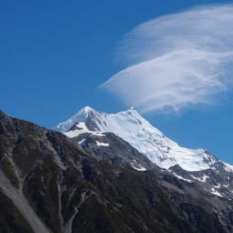 Aoraki Mt Cook from the back