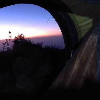 Final morning...view from sleeping bag.