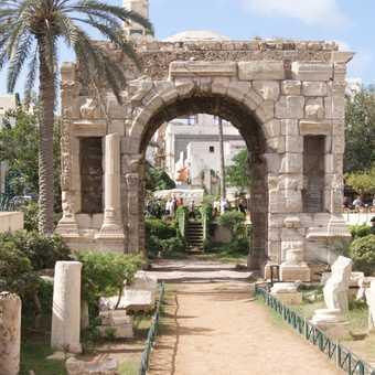 Marcus aureleus arch