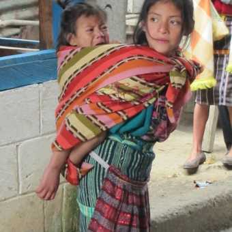Mayan girl in Guatemala