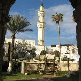 Tripoli, Gurgi Mosque tower, April 2009