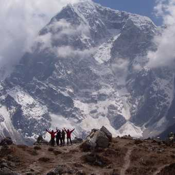 On way to Base Camp