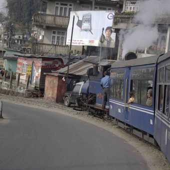 Darjeeling Train Takes the Strain