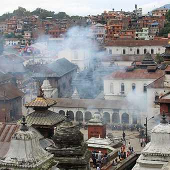 The border town, Tibet