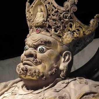 buddhist temple figure