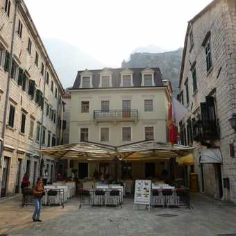A square in Kotor