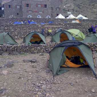 Base camp - home for two days