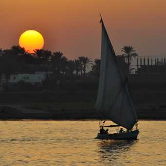 Sunset on the Nile2