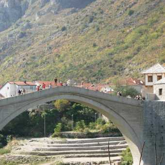 The Bridge at Mostar