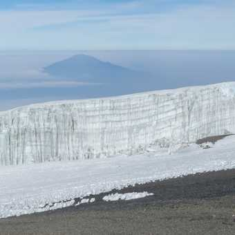 Glacier and Meru