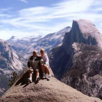 Yosemite N.P. Glacier Point.
