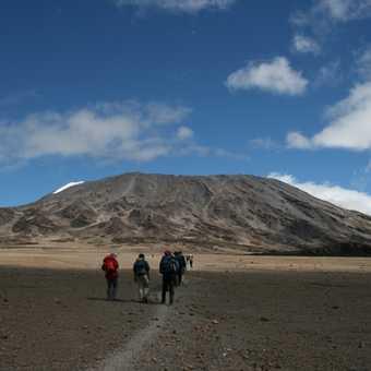 Kilimanjaro from the Saddle