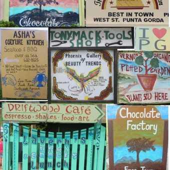 Street signs of Punta Gorda