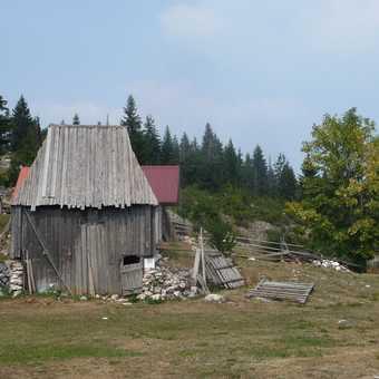 Traditional Hut at Podgora village