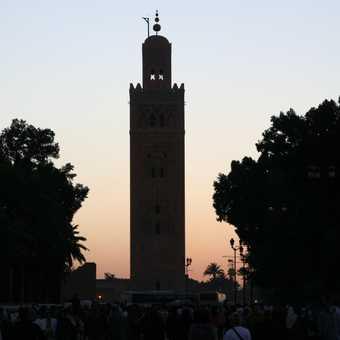 Djemaa el Fna barbecue stands, Marrakech