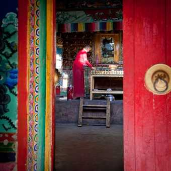 Yak Butter candles at Rongbuk Monastery