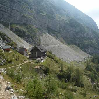 Day 5 - View of our lunch stop at Vodnikov Dom