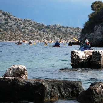 Kayaking the sunken city